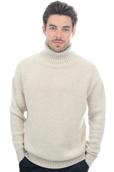 Cashmere  men polo necks achille
