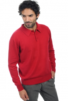 Cashmere  men polo style sweaters alexandre