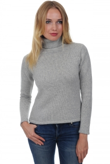 Cashmere  ladies polo necks carla
