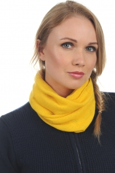 Cashmere  accessories snood fraise