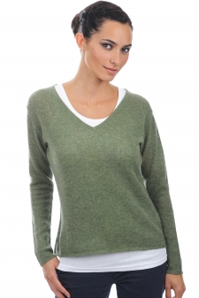 Cashmere  ladies v necks flavie