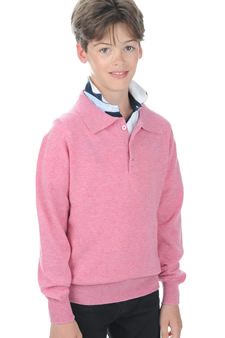 Cashmere  men polo style sweaters alex boy