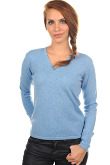 Cashmere  ladies v necks emma