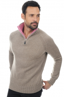 Cashmere  men polo style sweaters olivier