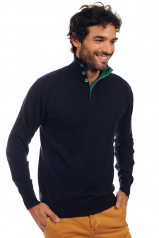Cashmere  men polo style sweaters gauvain