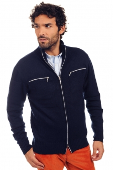 Cashmere  men chunky sweater logan