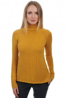Cashmere  ladies polo necks louisa