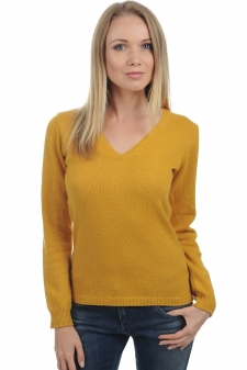 Cashmere  ladies v necks erine 4 ply