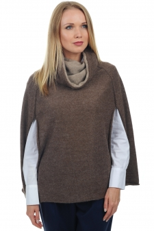 Baby Alpaca & Cashmere  ladies polo necks briana