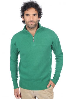 Cashmere  men polo style sweaters donovan
