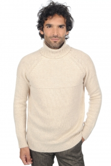 Cashmere  men chunky sweater mamadou