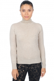 Cashmere  ladies polo necks lili premium