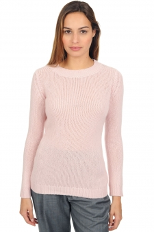 Cashmere  ladies chunky sweater marielle