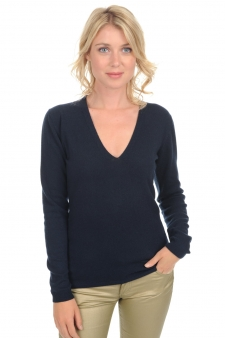 Cashmere  ladies v necks marlee