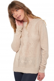 Cashmere  ladies round necks shae