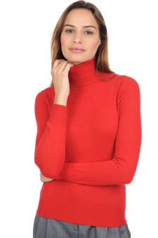 Cashmere  ladies roll neck lili premium