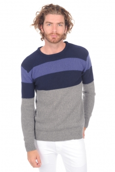 Cashmere  men round necks paulin