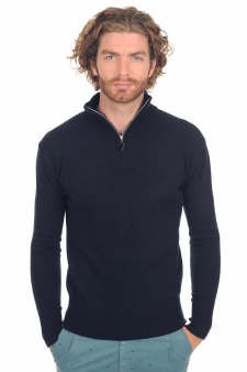 Cashmere  men polo style sweaters sandor
