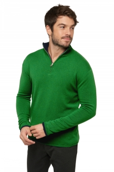 Cashmere  men polo style sweaters cilio