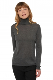 Cashmere Duvet  ladies roll neck joanie