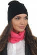 Cashmere accessories beanie bloup black mustard one size
