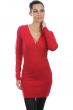 Cashmere ladies dresses coats maud blood red xs