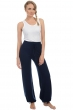 Cashmere ladies trousers leggings heather dress blue xs