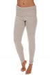 Cashmere ladies trousers leggings shirley vintage beige chine l