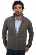 cashmere & Yak men waistcoat  sleeveless sweaters vincent natural dove coral l