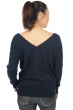 cashmere ladies v necks dayana dress blue l