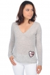cashmere ladies v necks love flanelle chine l