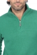 cashmere men polo style sweaters donovan evergreen m