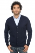 cashmere men waistcoat  sleeveless sweaters yoni dress blue l