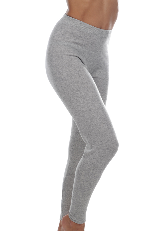 Cashmere ladies trousers leggings xelina flanelle chine xs
