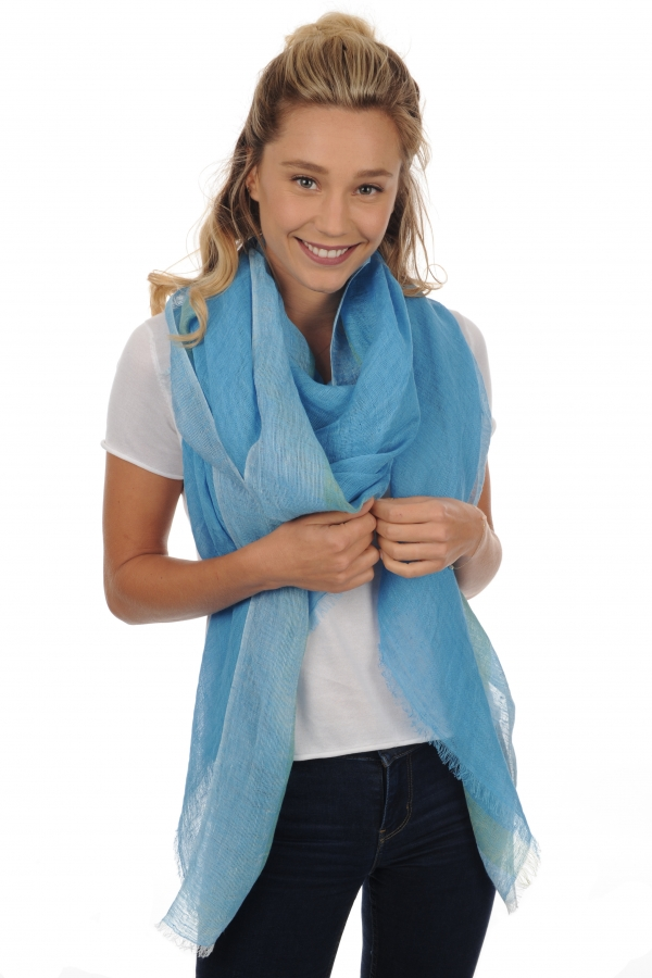 Linen accessories shawls phoebe hawaii 200 x 80 cm