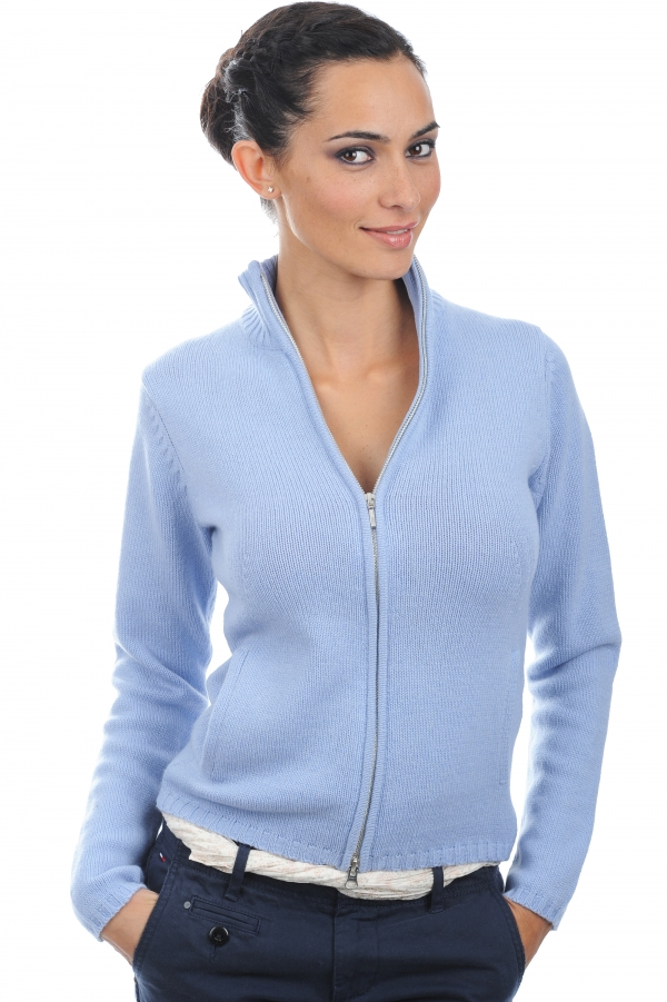 cashmere ladies cardigans elodie kentucky blue m
