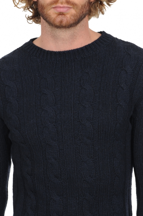 yak men round necks tommen midnight blue l