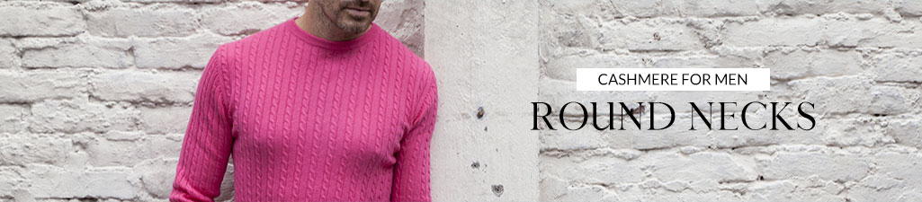 Cashmere for menRound necks