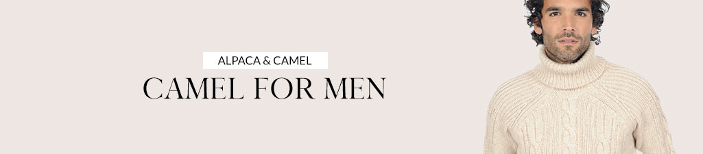 Alpaca & camelCamel for men