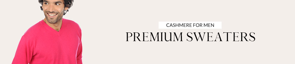 Cashmere for menPremium sweaters